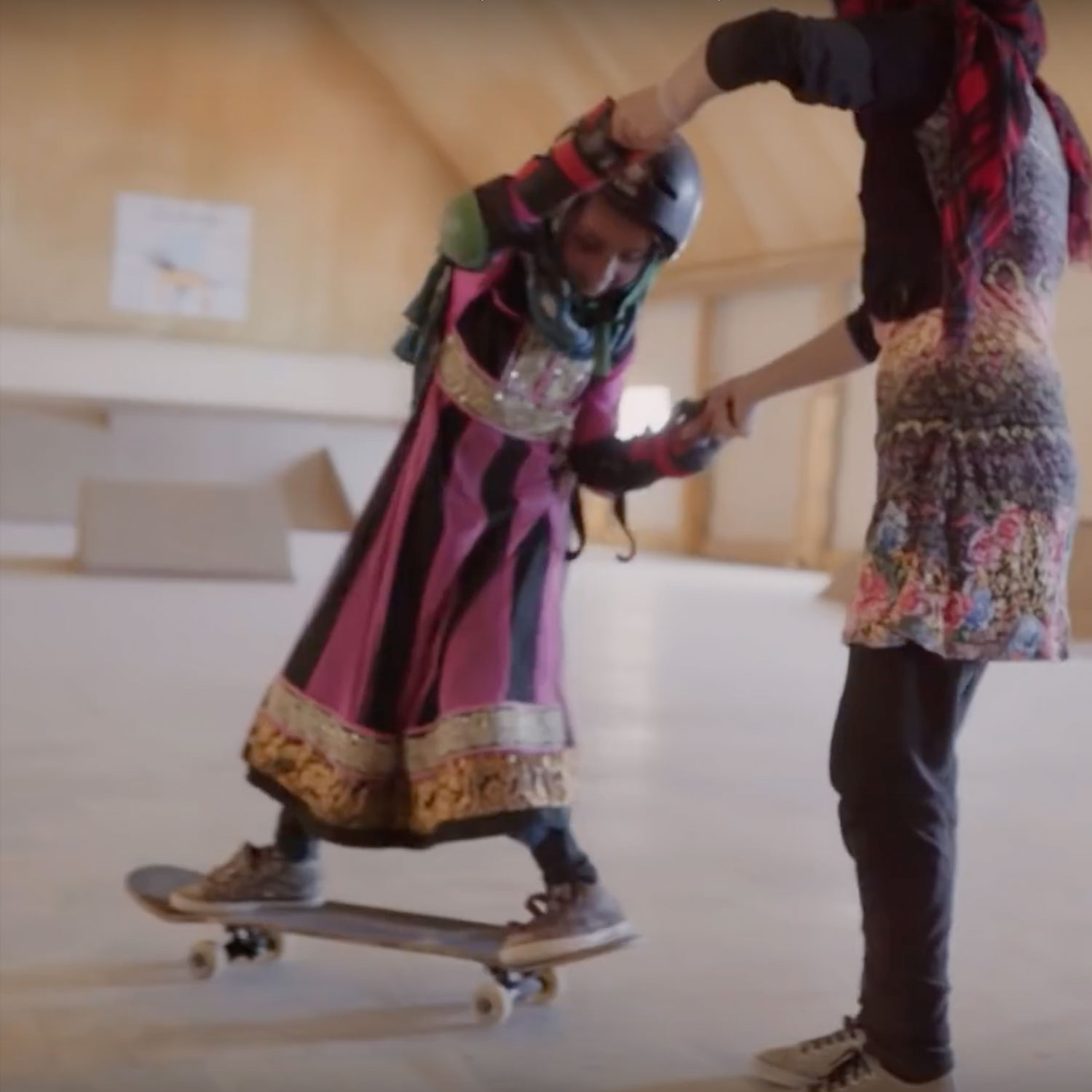 Learning to Skateboard in a Warzone (If You're a Girl)